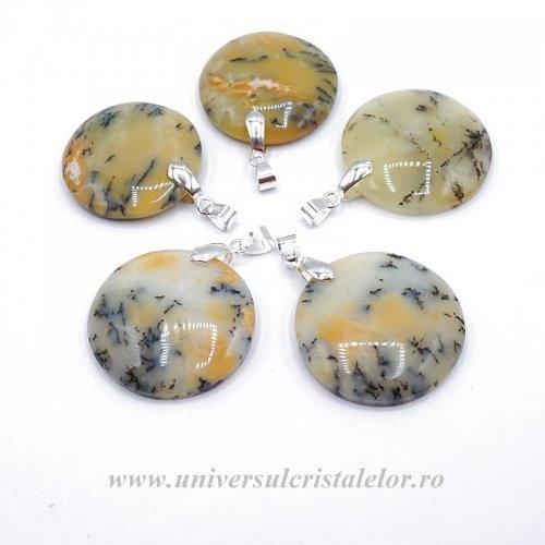 Pandantiv agat dendritic