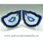Felie agat albastru