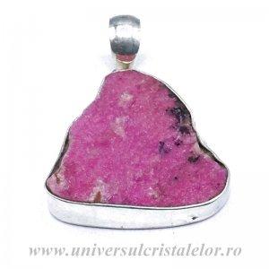 Pandantiv cobalto-calcit