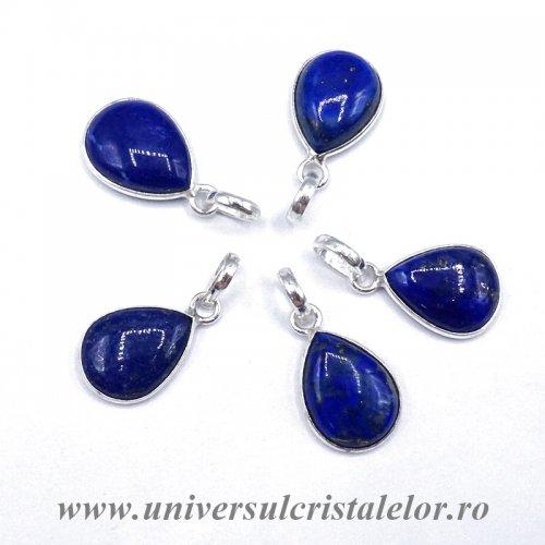 Pandantiv lapis lazuli lacrima