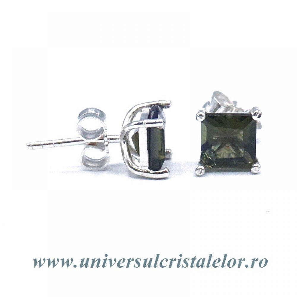 design de top cumpărare acum calitate superioară prazan mm emitiranje bijuterii argint cu moldavit - studio-aix.com