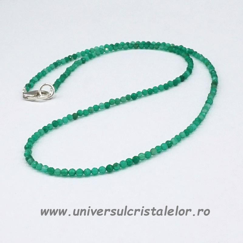 Colier onix verde