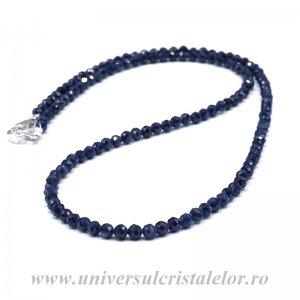 Colier safir albastru