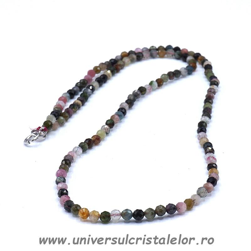 Colier turmalina multicolor