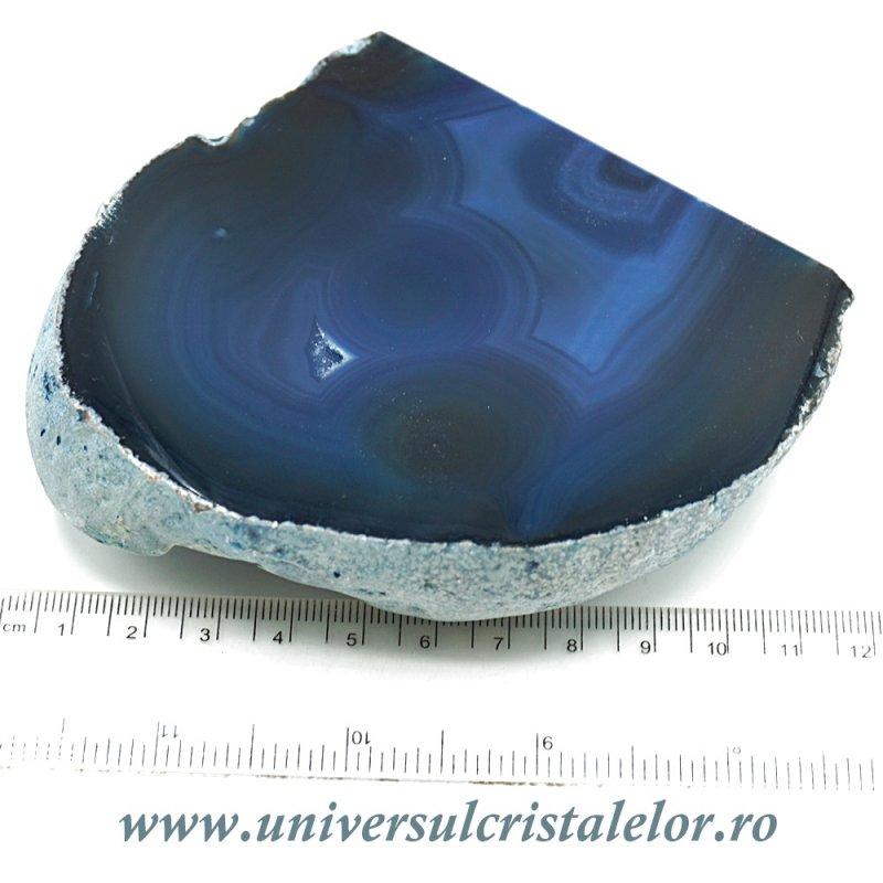 Geoda agat albastru