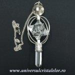 Pendul cristal de stanca