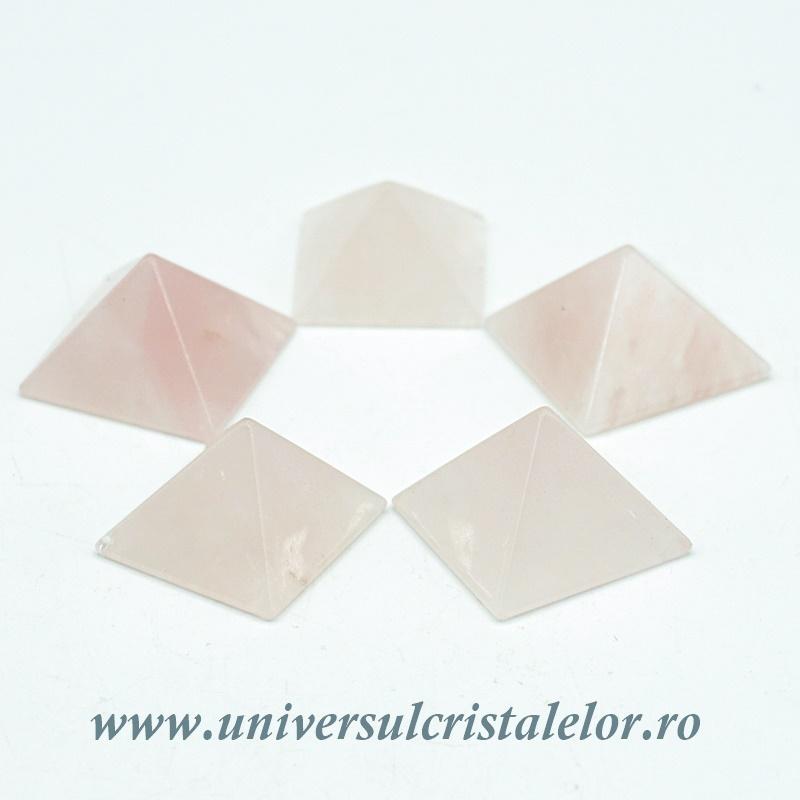 Piramida cuart roz