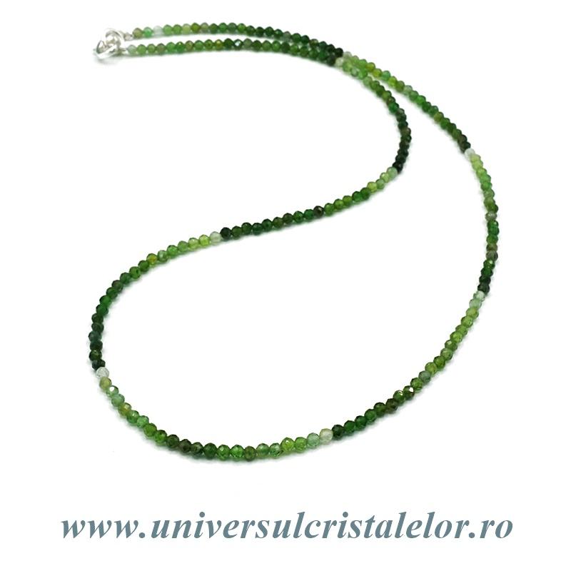 Colier turmalina verde