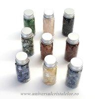 Sticlute pietre semipretioase